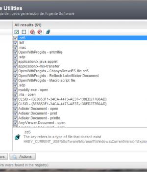 Argente - Registry Cleaner Ekran Görüntüleri - 4