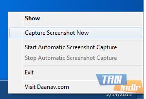 Auto Screenshot Capture Ekran Görüntüleri - 1