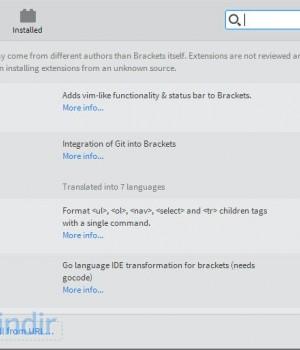 Brackets Ekran Görüntüleri - 1
