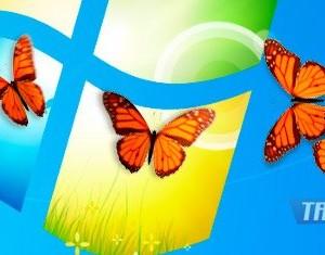 Butterfly on Desktop Ekran Görüntüleri - 1