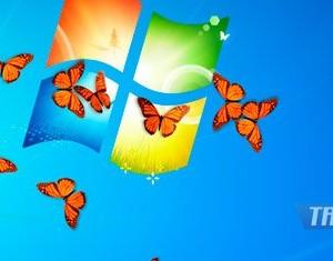 Butterfly on Desktop Ekran Görüntüleri - 2