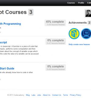 Codecademy Ekran Görüntüleri - 2