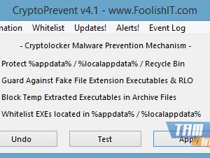 CryptoPrevent Ekran Görüntüleri - 1