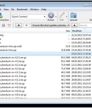 Cyberduck Ekran Görüntüleri - 1