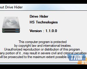 Drive Hider Ekran Görüntüleri - 1