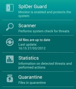 Dr.Web Anti-virus Light Ekran Görüntüleri - 5