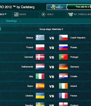 Euro 2012 Fixture Ekran Görüntüleri - 1