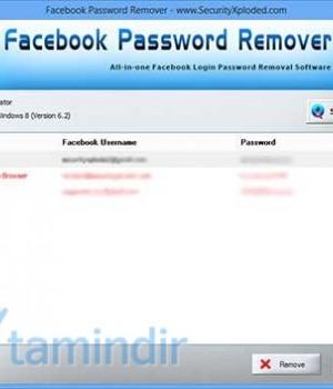 Facebook Password Remover Ekran Görüntüleri - 2