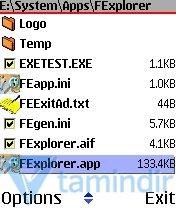 FExplorer Ekran Görüntüleri - 2