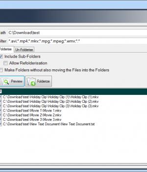 FileToFolder Ekran Görüntüleri - 1