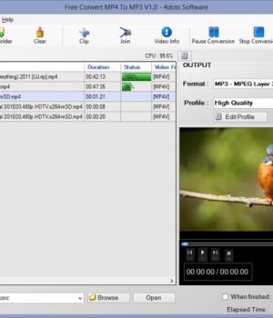Free Convert MP4 To MP3 Ekran Görüntüleri - 4