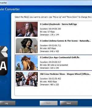 Free CUDA Movie Converter Ekran Görüntüleri - 4