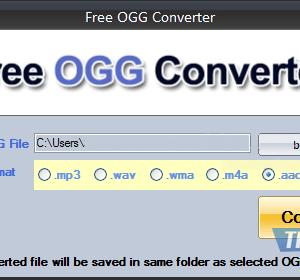 Free OGG Converter Ekran Görüntüleri - 1
