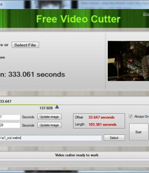 Free Video Cutter Ekran Görüntüleri - 1