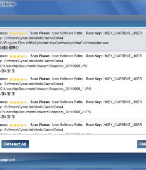 Free Windows Registry Cleaner Ekran Görüntüleri - 1
