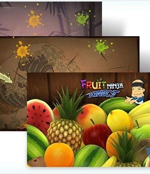 Fruit Ninja Windows 7 Teması Ekran Görüntüleri - 1