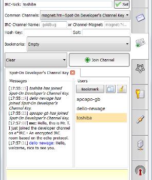 GoldBug Instant Messenger Ekran Görüntüleri - 1
