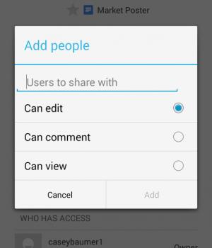 Google Dokümanlar Ekran Görüntüleri - 1