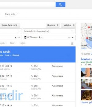 Google Flights Ekran Görüntüleri - 1