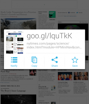 Google URL Shortener Ekran Görüntüleri - 1