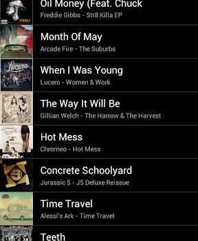 Grooveshark Ekran Görüntüleri - 2