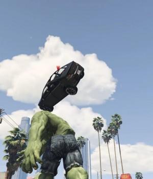 GTA 5 Hulk Modu Ekran Görüntüleri - 4