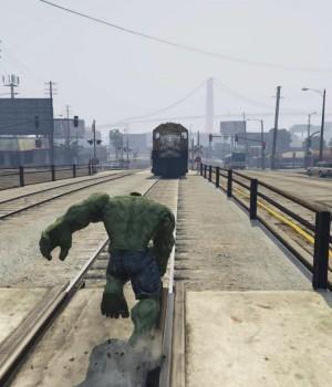 GTA 5 Hulk Modu Ekran Görüntüleri - 1