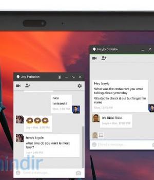 Hangouts Ekran Görüntüleri - 1