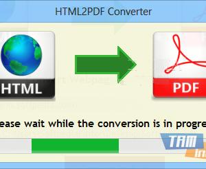 HTML2PDF Converter Ekran Görüntüleri - 1