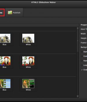 HTML5 Slideshow Maker Ekran Görüntüleri - 2
