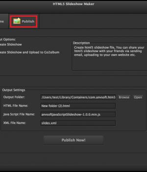 HTML5 Slideshow Maker Ekran Görüntüleri - 1