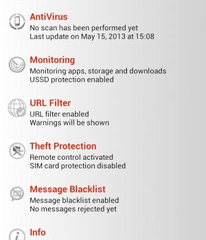 IKARUS mobile.security Ekran Görüntüleri - 1