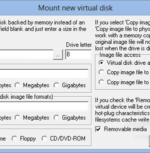 ImDisk Toolkit Ekran Görüntüleri - 2