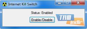 Internet Kill Switch Ekran Görüntüleri - 1