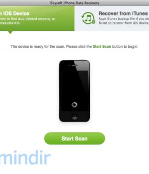 iSkysoft iPhone Data Recovery Ekran Görüntüleri - 4