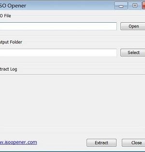 ISO Opener Ekran Görüntüleri - 1
