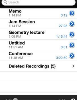 iTalk Recorder Ekran Görüntüleri - 1