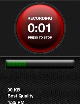 iTalk Recorder Ekran Görüntüleri - 2