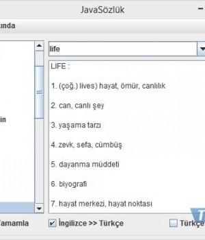 JavaSözlük Ekran Görüntüleri - 1