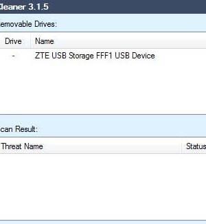 JBM USB Virus Cleaner Ekran Görüntüleri - 1