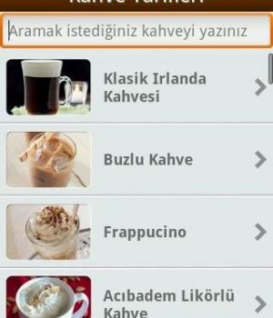 Kahve Tarifleri Ekran Görüntüleri - 1