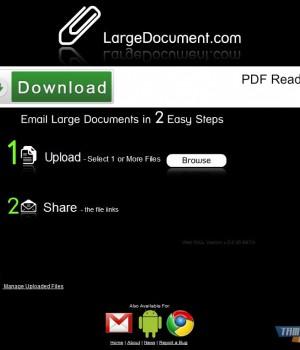 LargeDocument.com Ekran Görüntüleri - 4