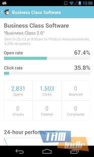 MailChimp for Android Ekran Görüntüleri - 2