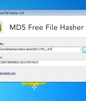 MD5 Free File Hasher Ekran Görüntüleri - 1