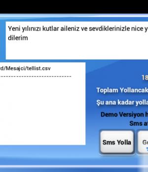 Mertsoft - Toplu SMS Ekran Görüntüleri - 5