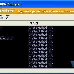 MixMeister BPM Analyzer Ekran Görüntüleri - 1