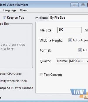 Moo0 VideoMinimizer Ekran Görüntüleri - 1
