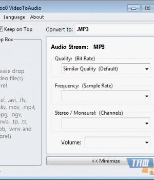 Moo0 VideoToAudio Ekran Görüntüleri - 1