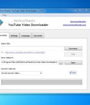 NoVirusThanks YouTube Video Downloader Ekran Görüntüleri - 1