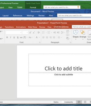 Office 2016 Ekran Görüntüleri - 1
